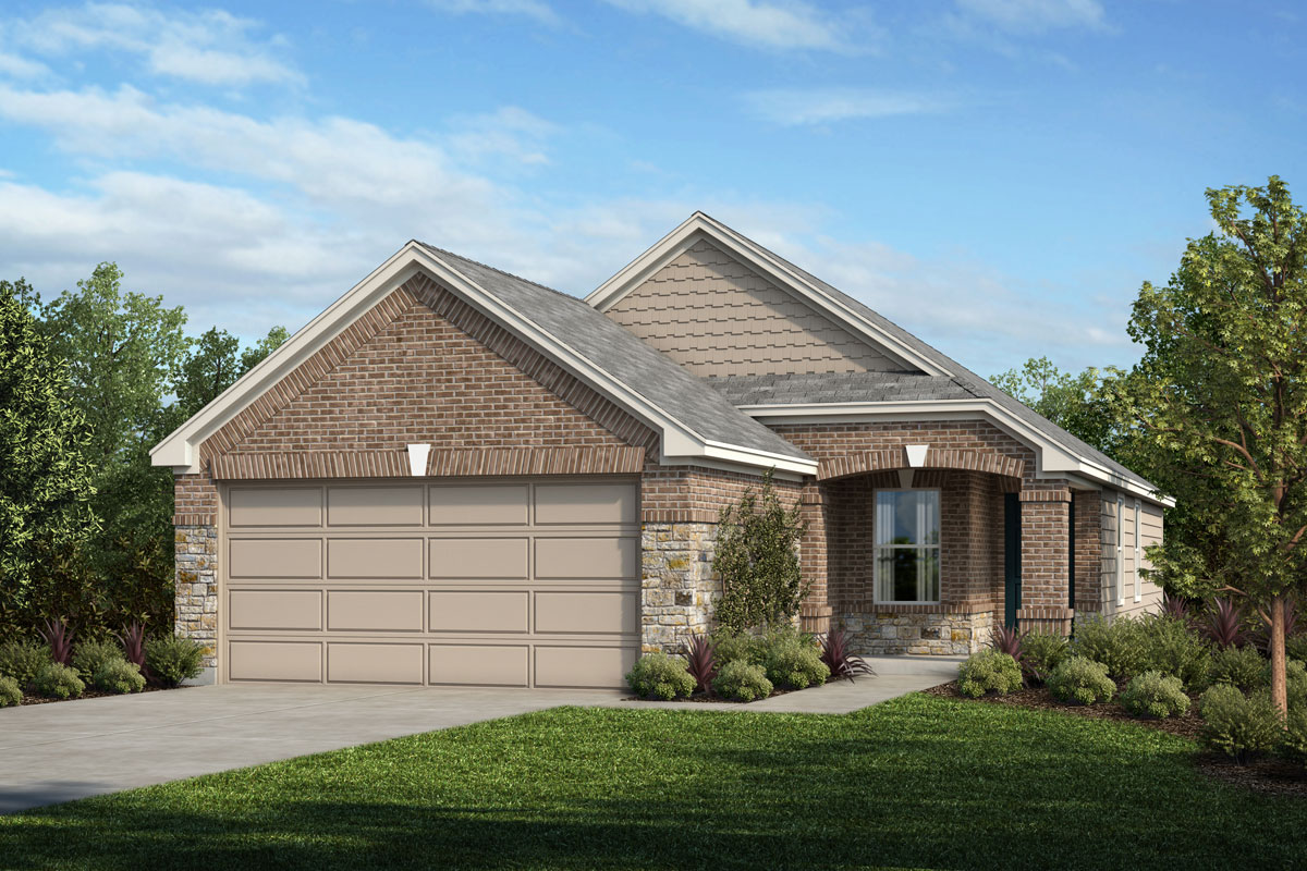 New Homes in Houston, TX - Timber Crossing Plan 1234 - Elevation E