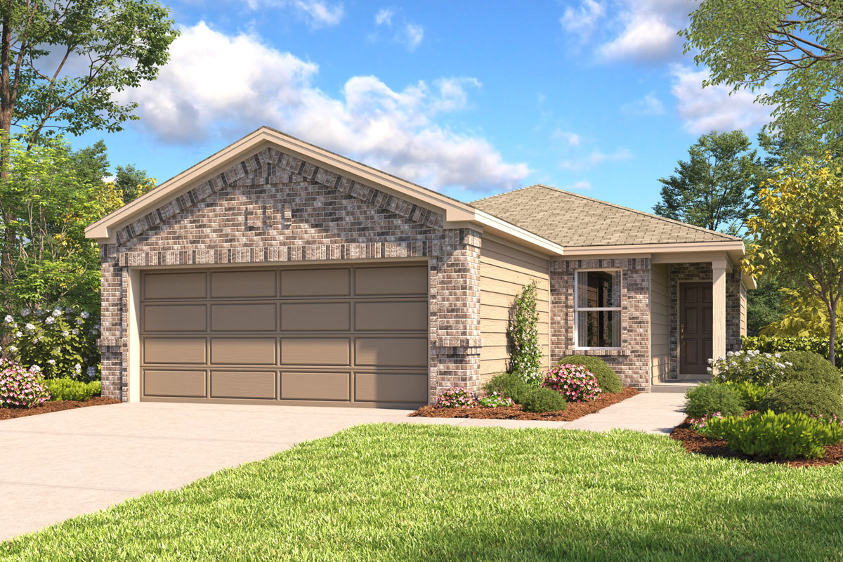 New Homes in Houston, TX - Plan 1360