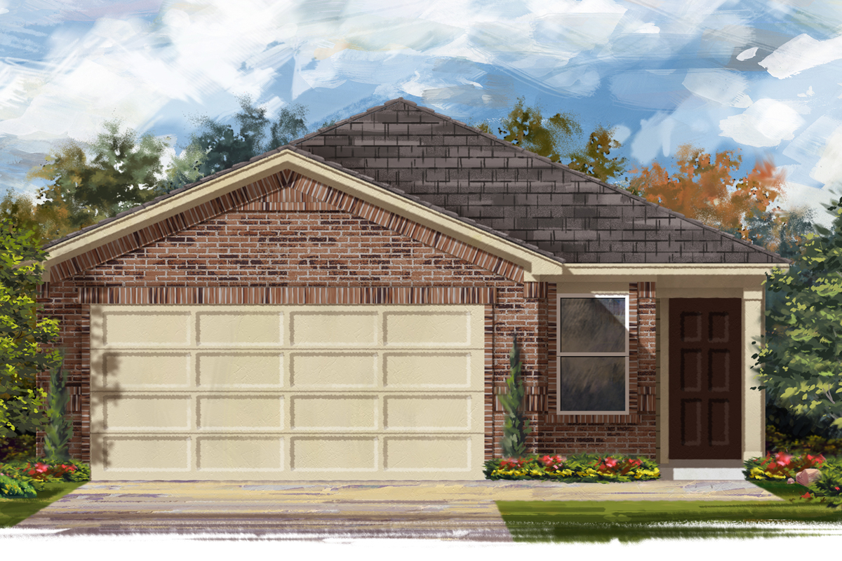 New Homes in Katy, TX - Plan 1454