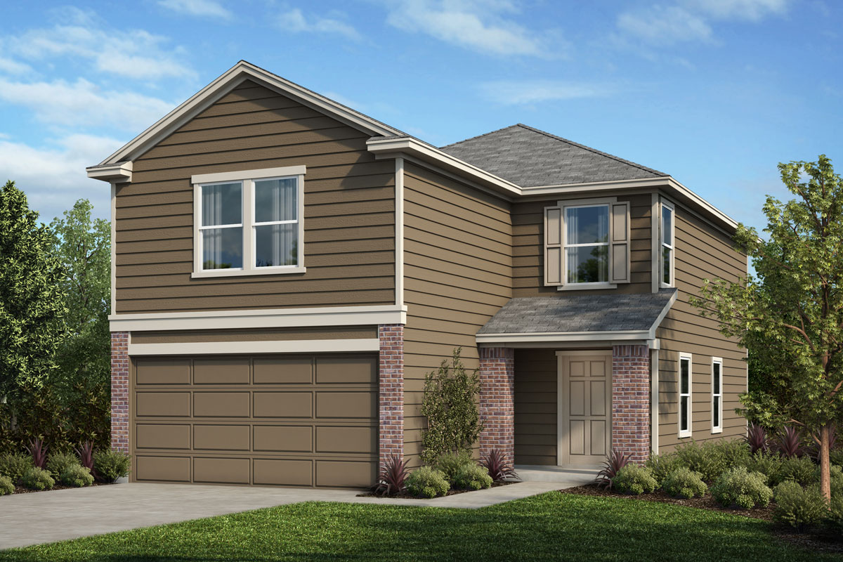 New Homes in Houston, TX - Benson Trace Plan 1909 Elevation B