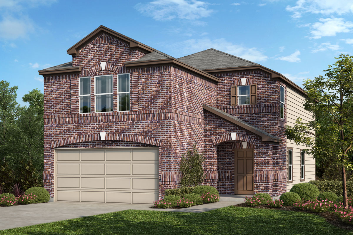New Homes in Houston, TX - Benson Trace Plan 1909 - Elevation C