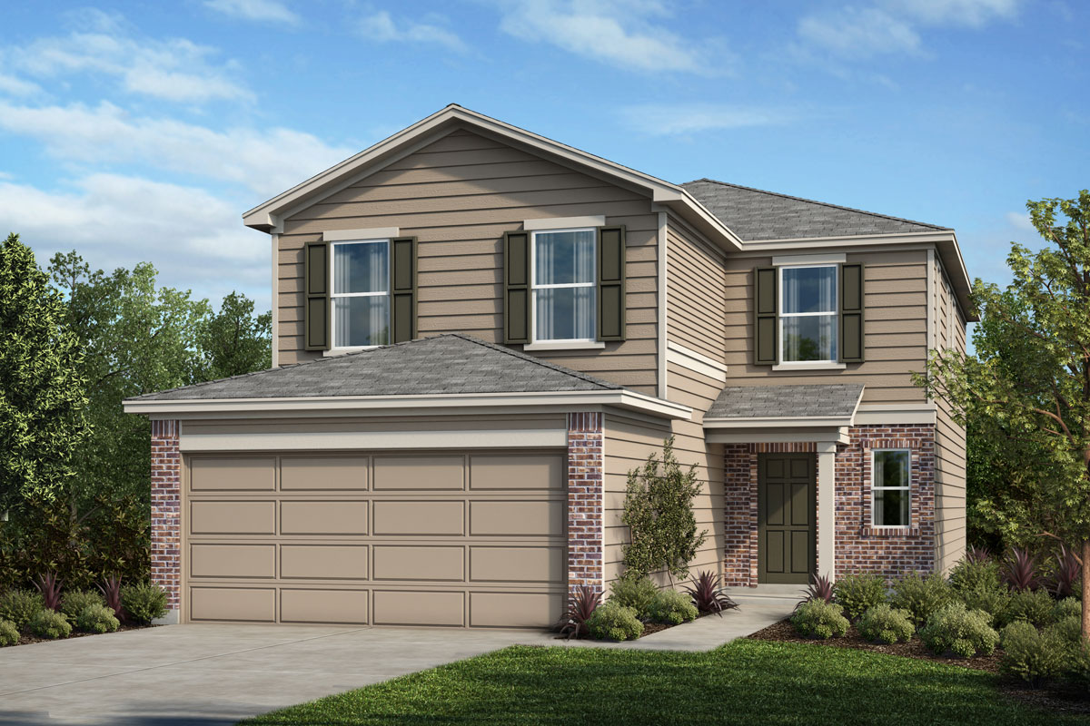 New Homes in Houston, TX - Timber Crossing Plan 2239 Elevation B