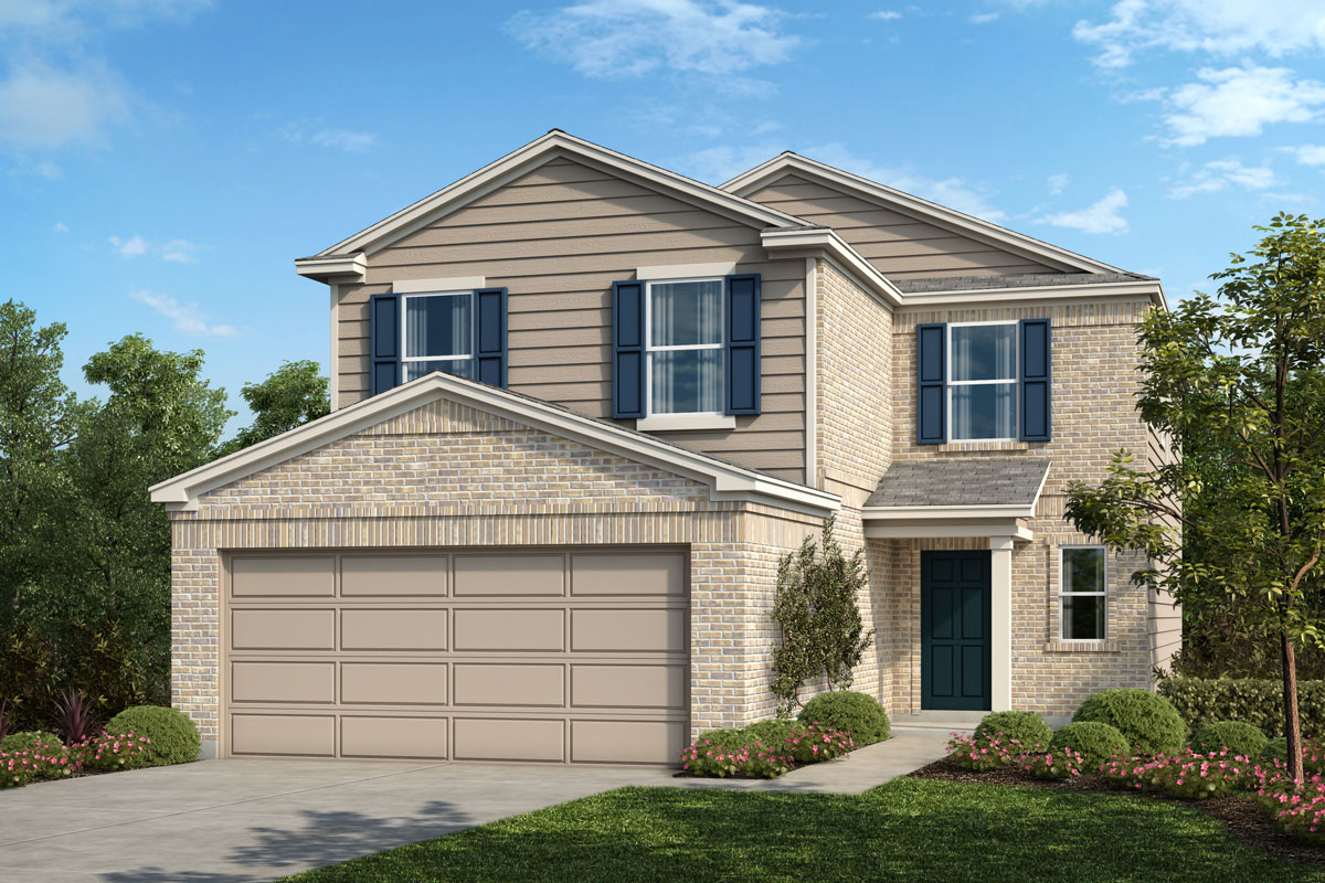 New Homes in Houston, TX - Willow Wood Place Plan 2239 - Elevation C