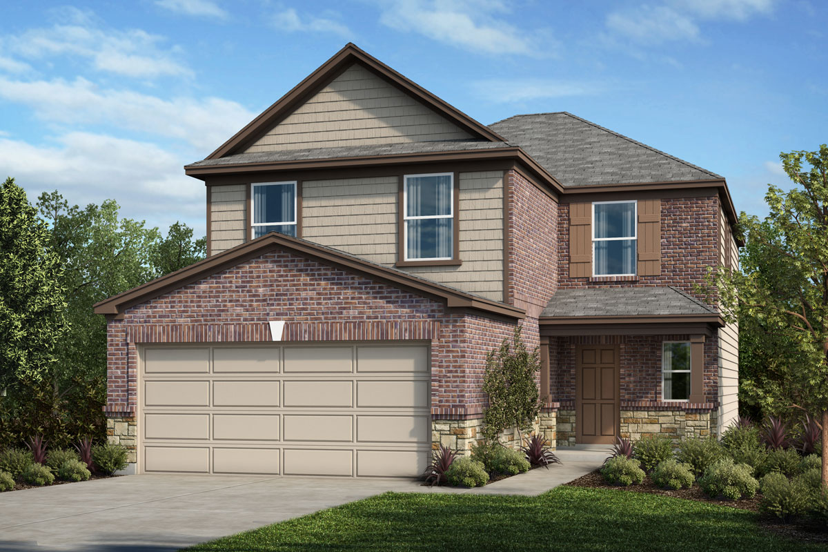 New Homes in Houston, TX - Willow Wood Place Plan 2239 - Elevation E