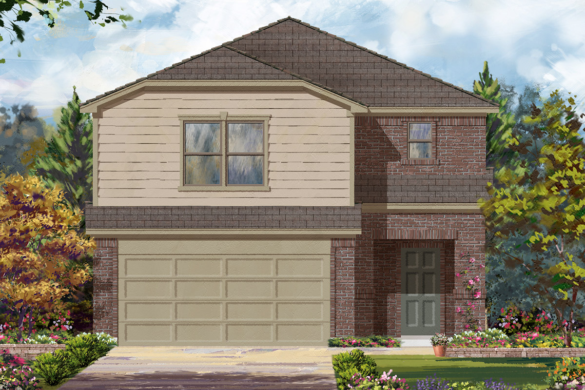 New Homes in Houston, TX - Plan 2646