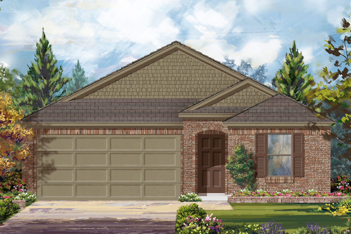 New Homes in Conroe, TX - Plan 1631