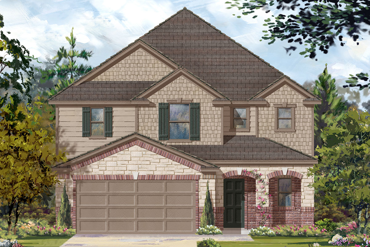 New Homes in Katy, TX - Plan 2526