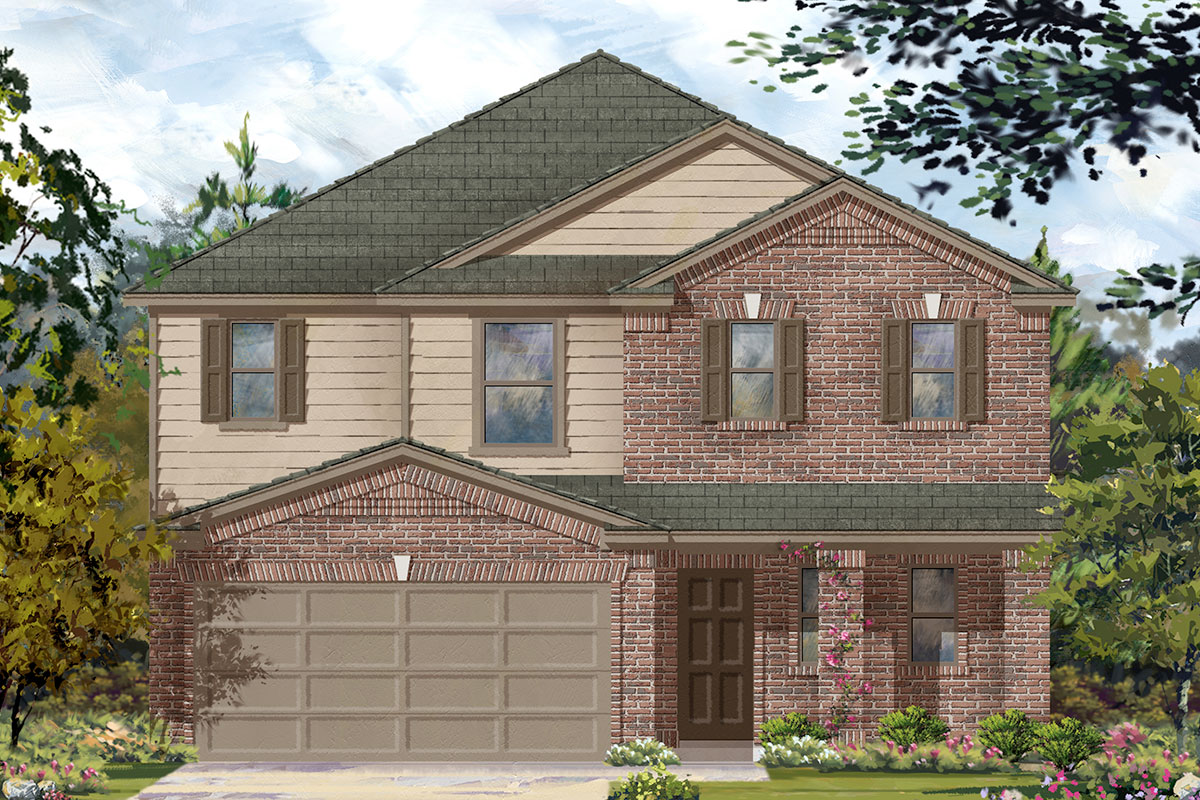 New Homes in Porter, TX - Elevation B