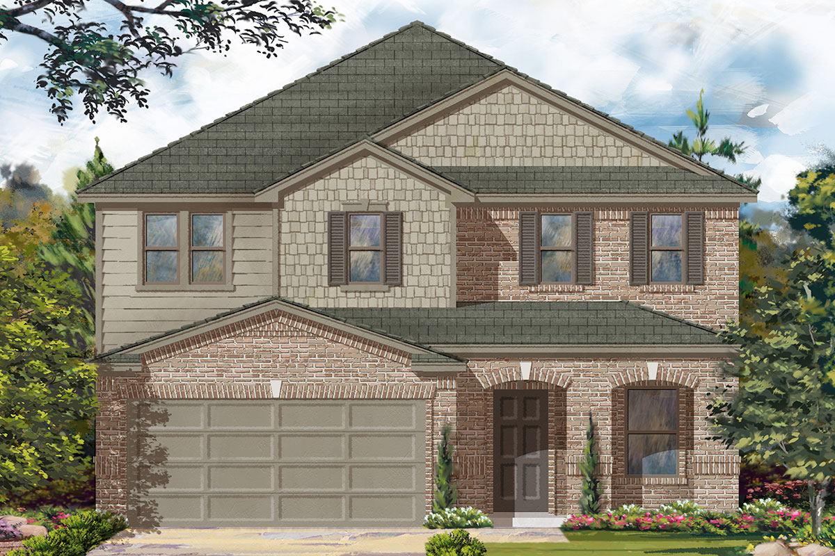 New Homes in Katy, TX - Plan 2961