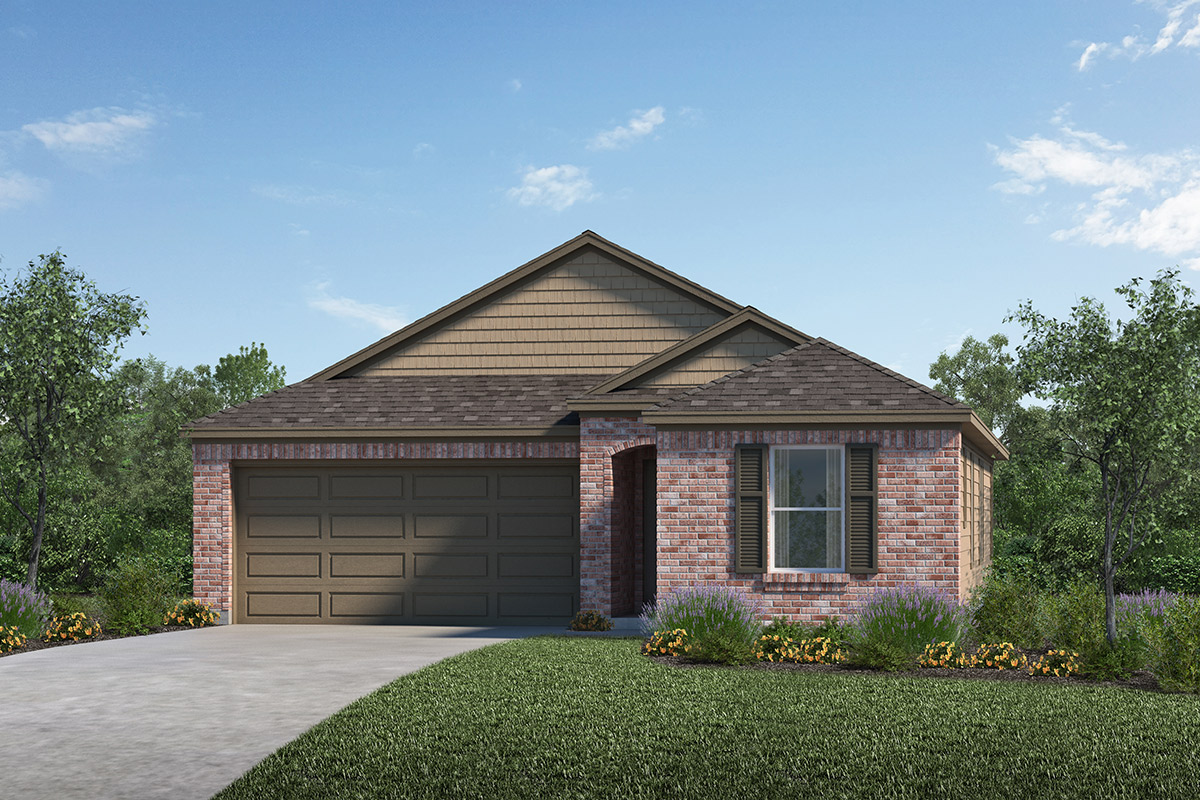 New Homes in Porter, TX - Elevation D