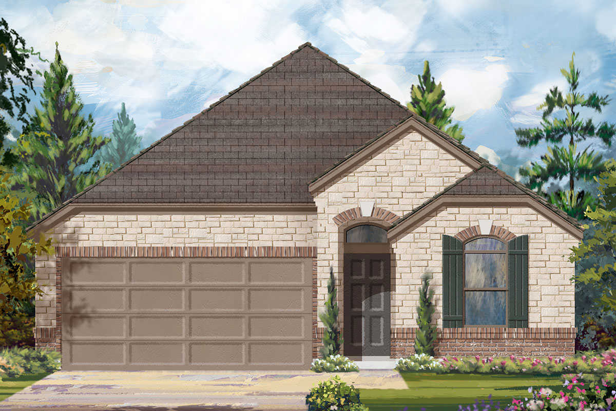 New Homes in Conroe, TX - Elevation E