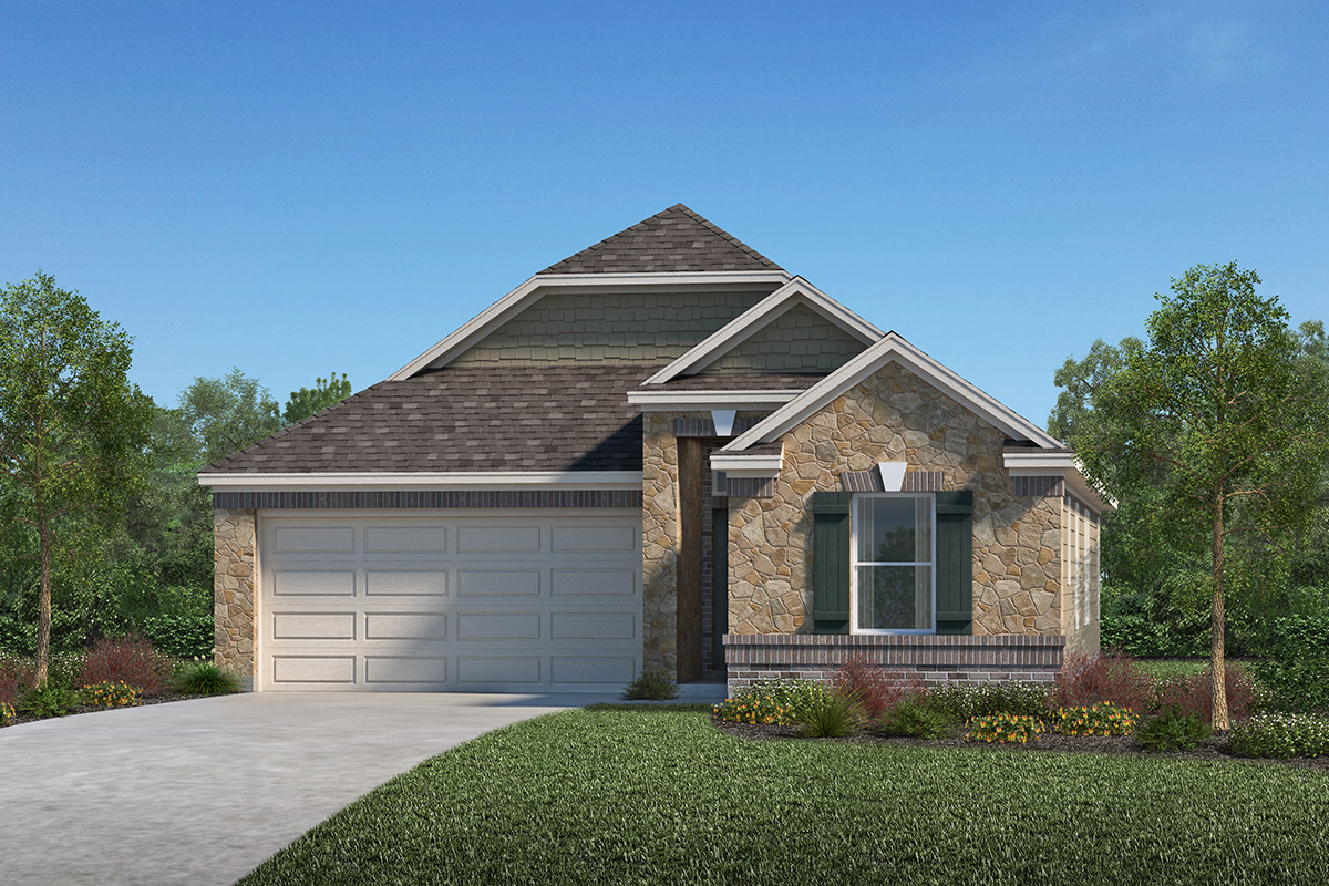 New Homes in Porter, TX - Elevation F