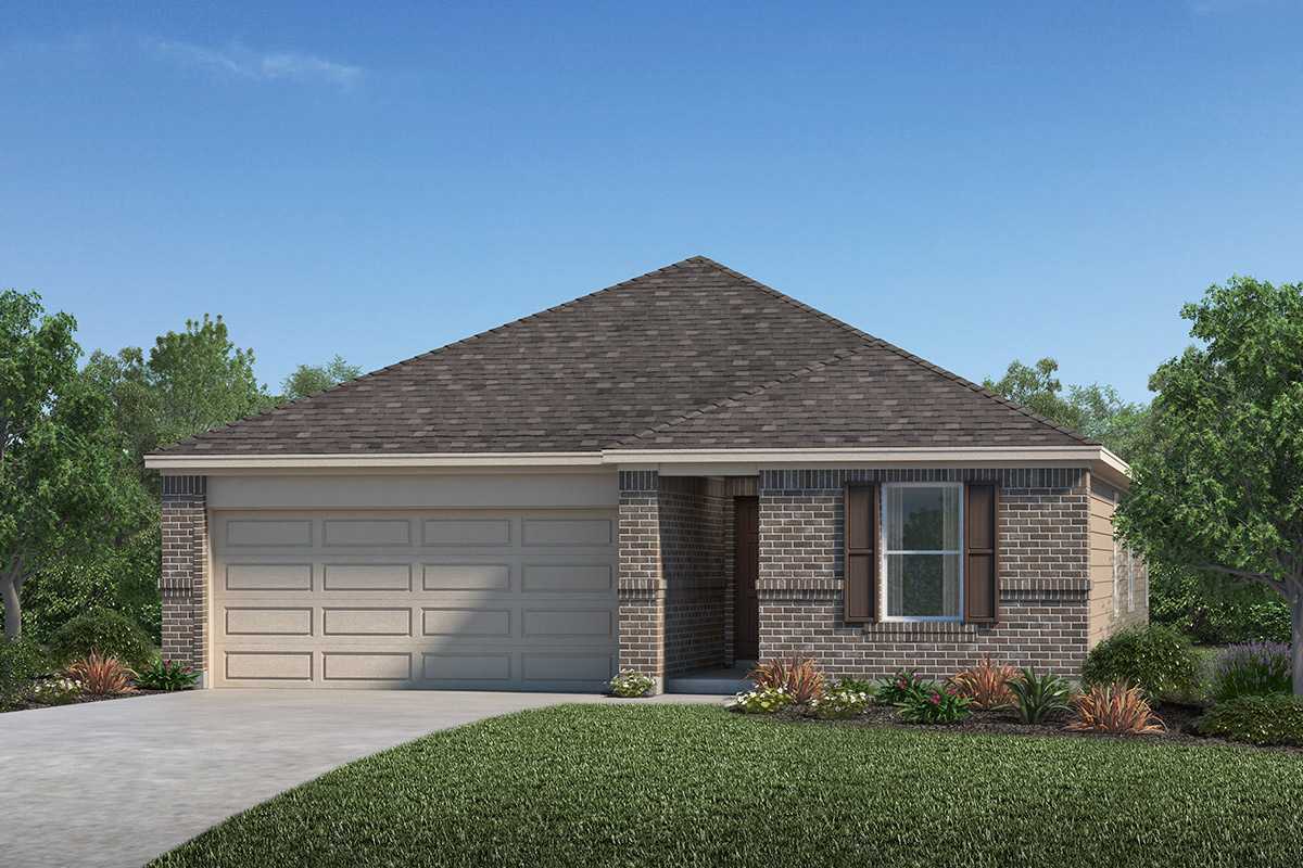 New Homes in Iowa Colony, TX - Elevation A