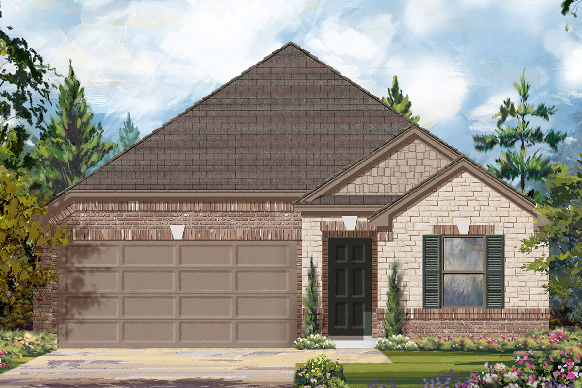 New Homes in Iowa Colony, TX - Elevation E
