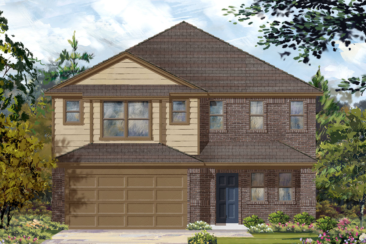 New Homes in Missouri City, TX - Elevation B