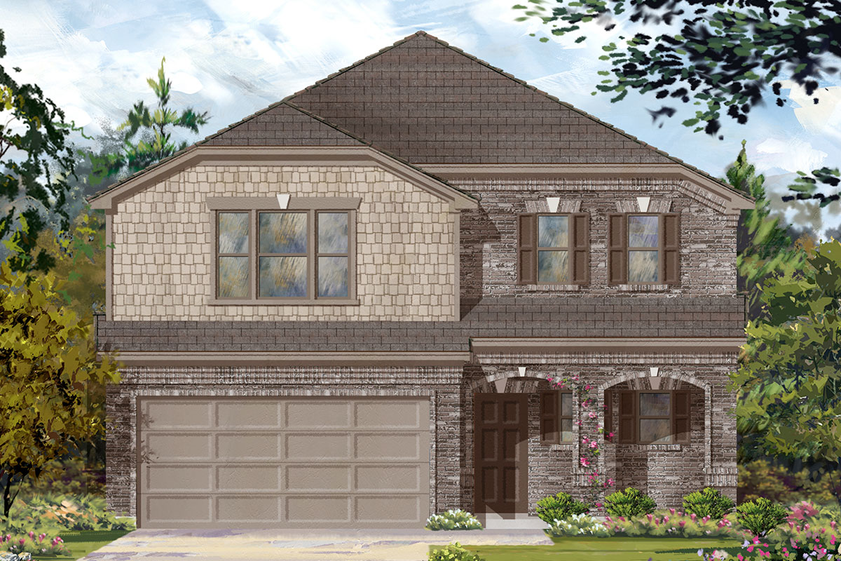New Homes in Missouri City, TX - Elevation C