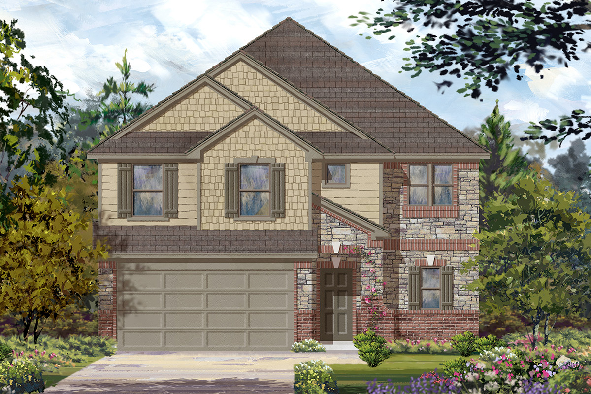 New Homes in Missouri City, TX - Elevation E
