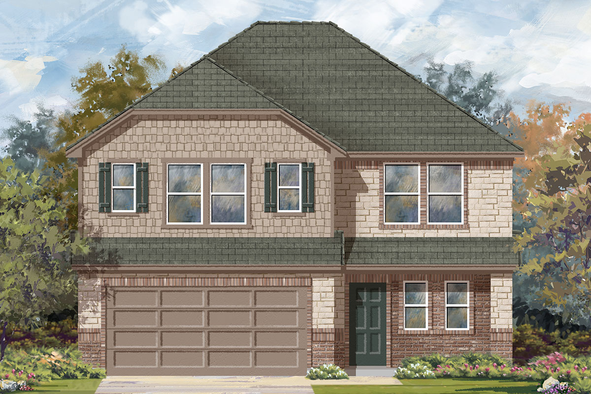New Homes in Katy, TX - Elevation E