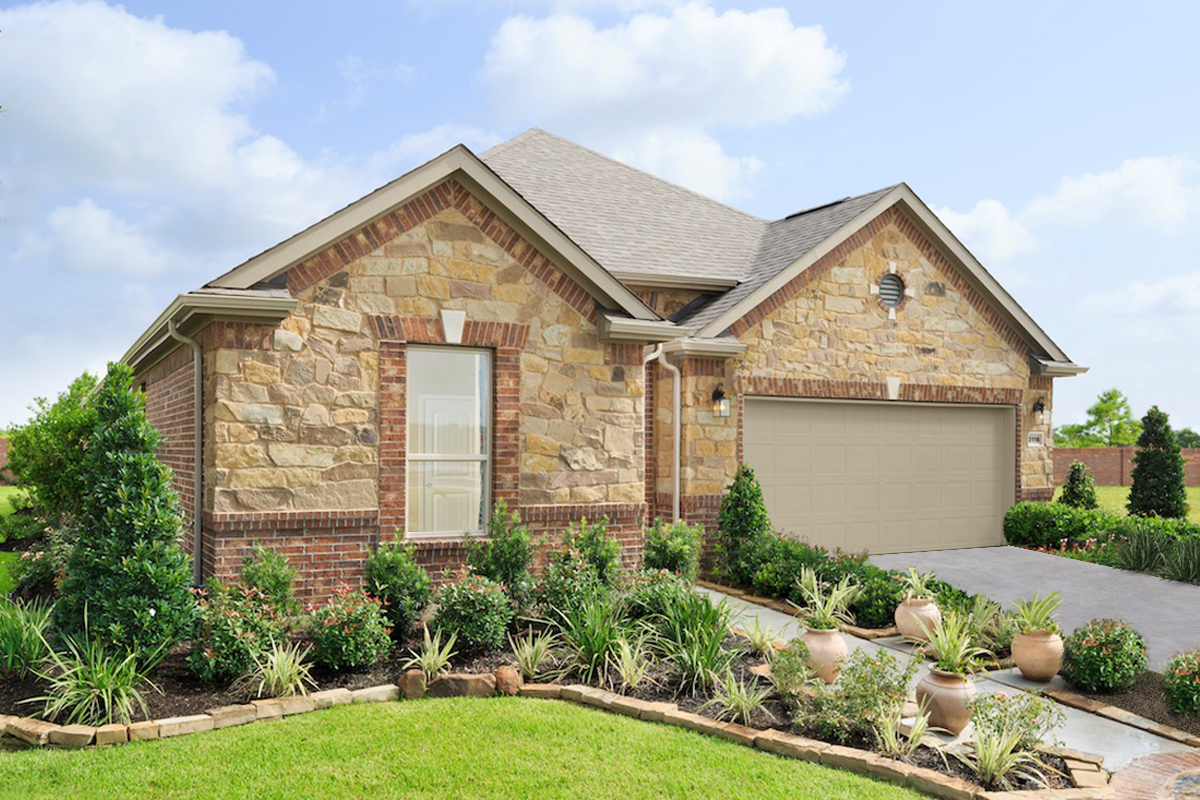 New Homes in Pearland, TX - Shadow Grove Preserve Plan 2130