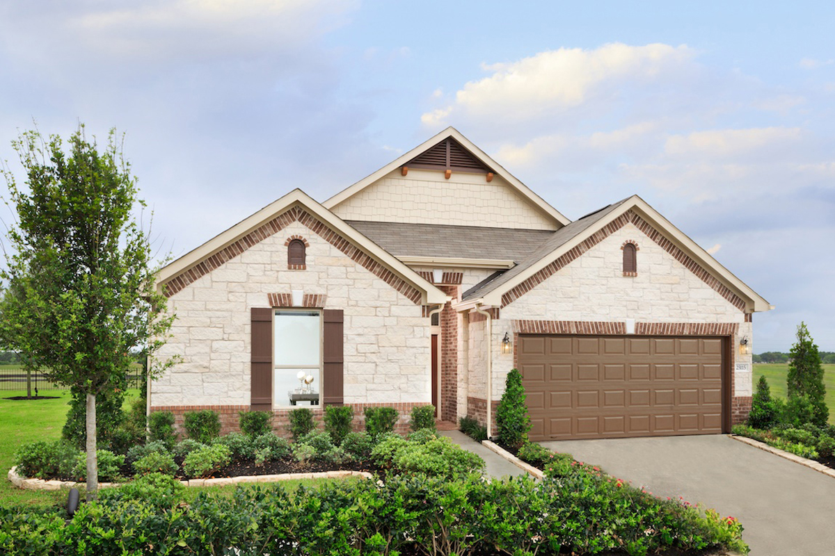 New Homes in Richmond, TX - Briscoe Falls Preserve Plan 2314