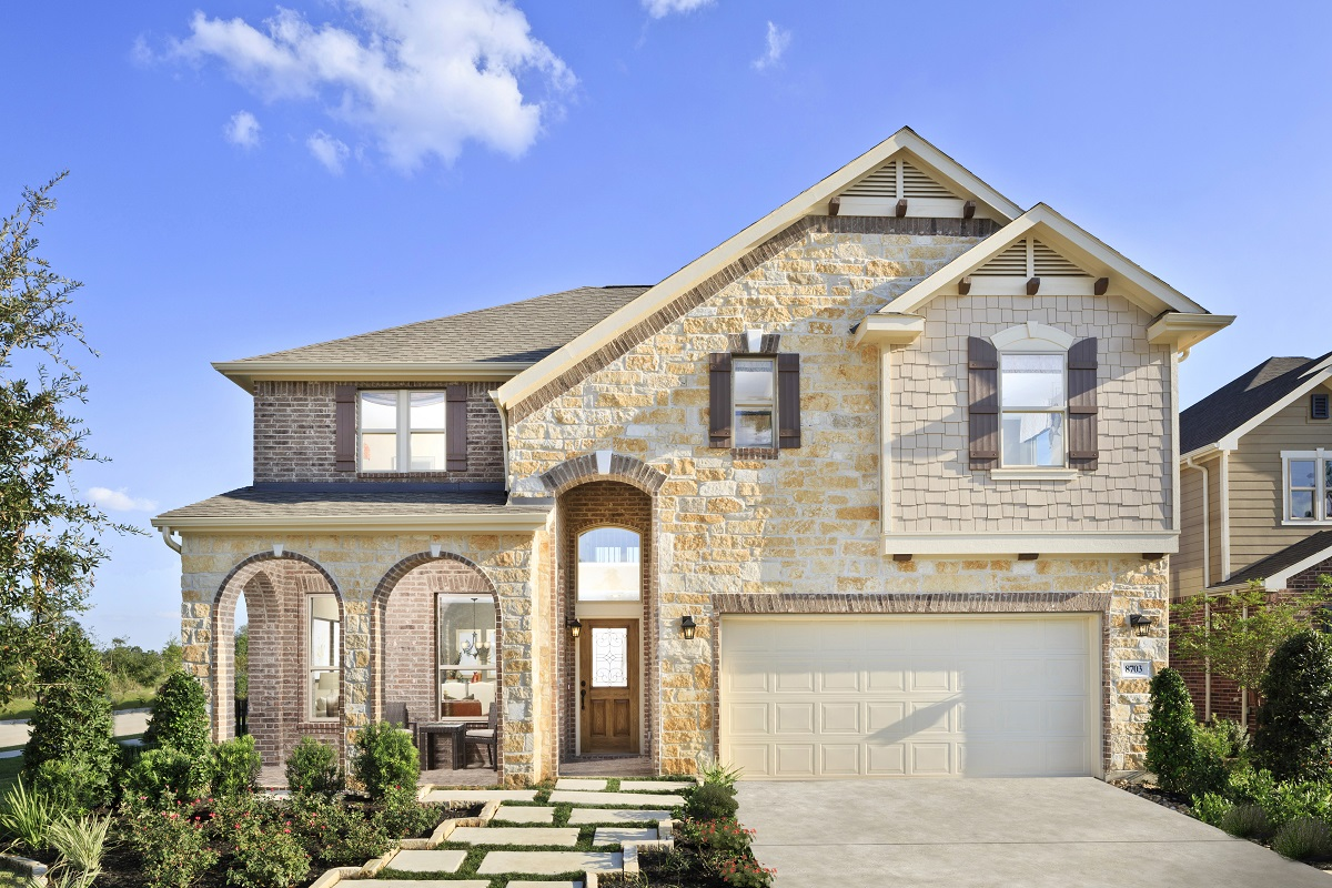 New Homes in Magnolia, TX - Cimarron Creek Preserve Plan 3028 Modeled