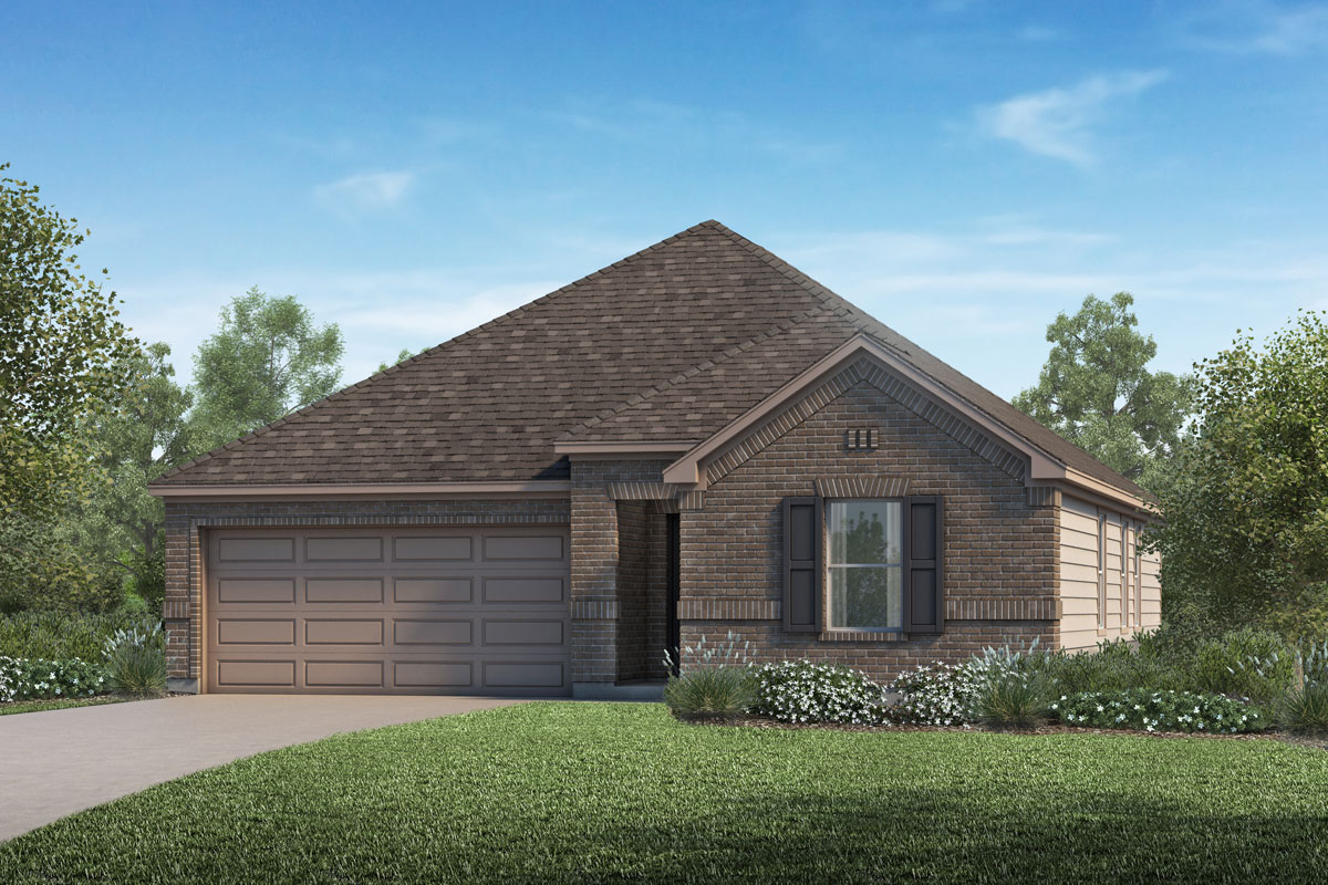 New Homes in La Marque, TX - Sunset Grove Plan 1491