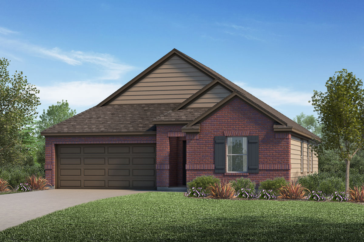 New Homes in Katy, TX - Katy Manor Preserve Plan 1491