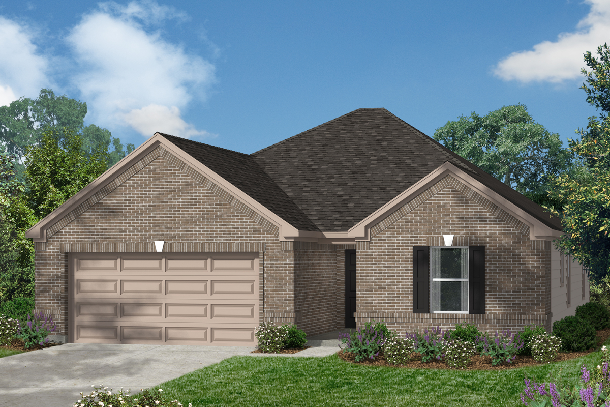 New Homes in Conroe, TX - Plan 1675 Modeled