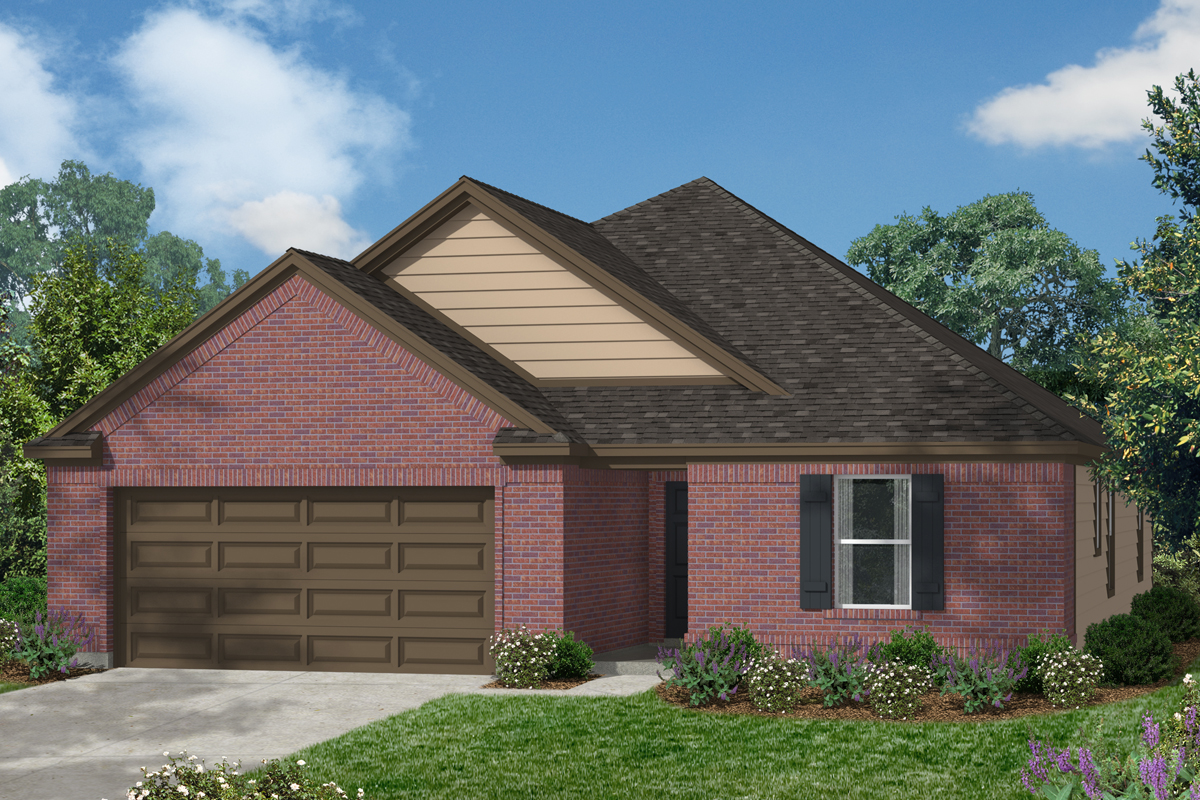 New Homes in Katy, TX - Katy Manor Preserve Plan 1675