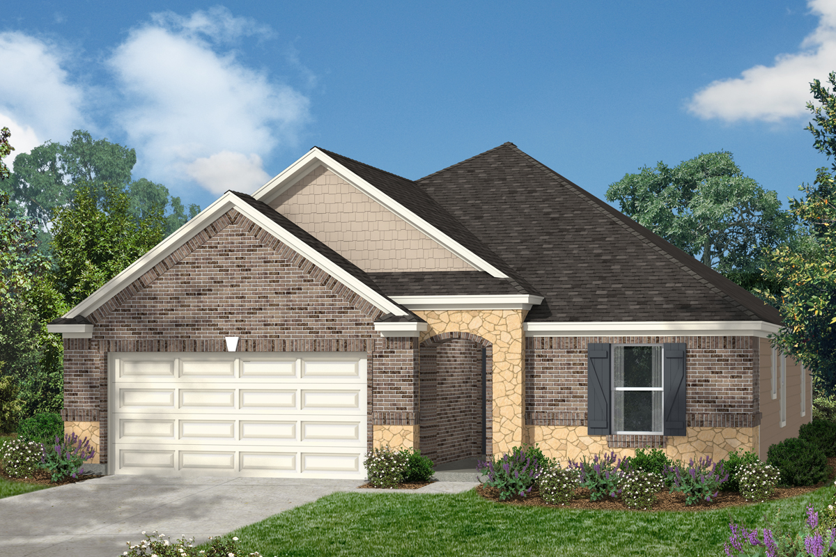 New Homes in Kingwood, TX - Elevation C