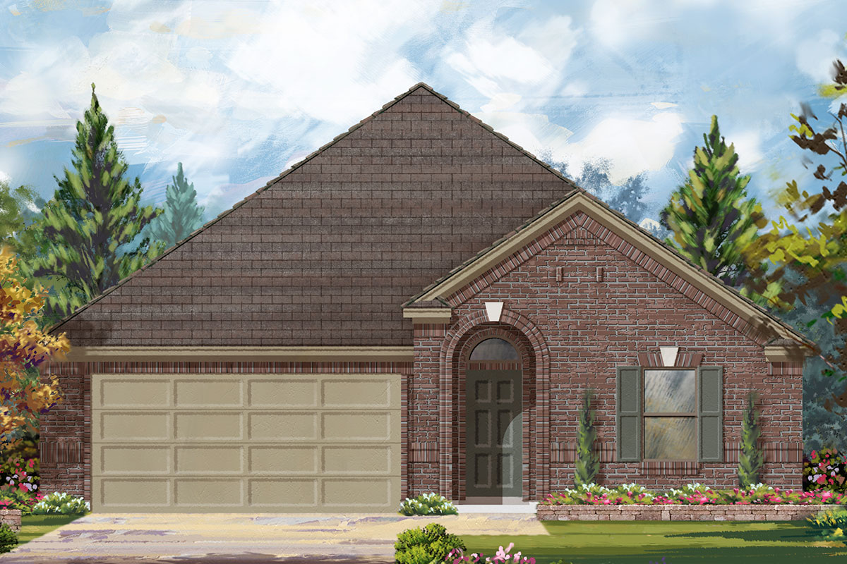 New Homes in Magnolia, TX - Plan 1785