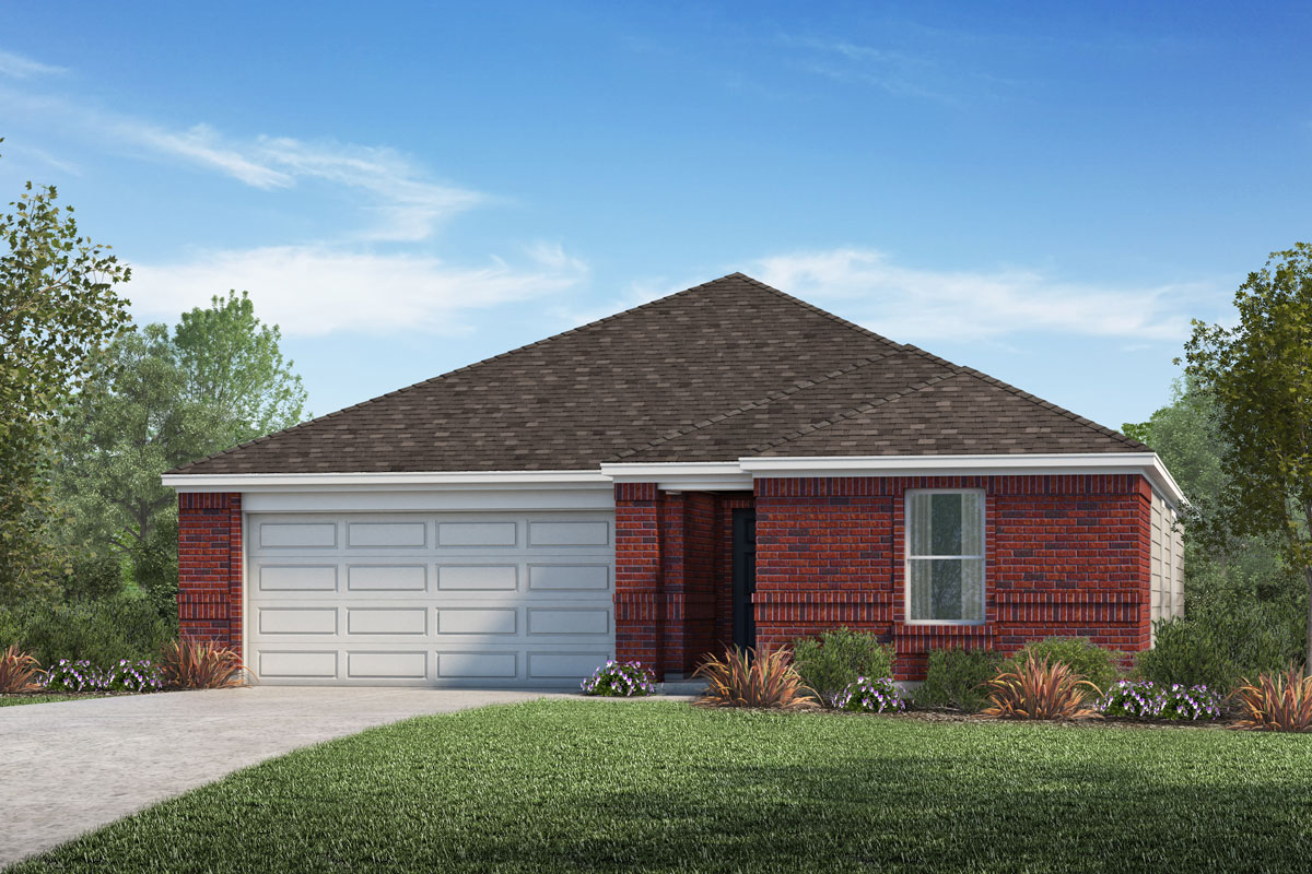 New Homes in La Marque, TX - Sunset Grove Plan 1785-A