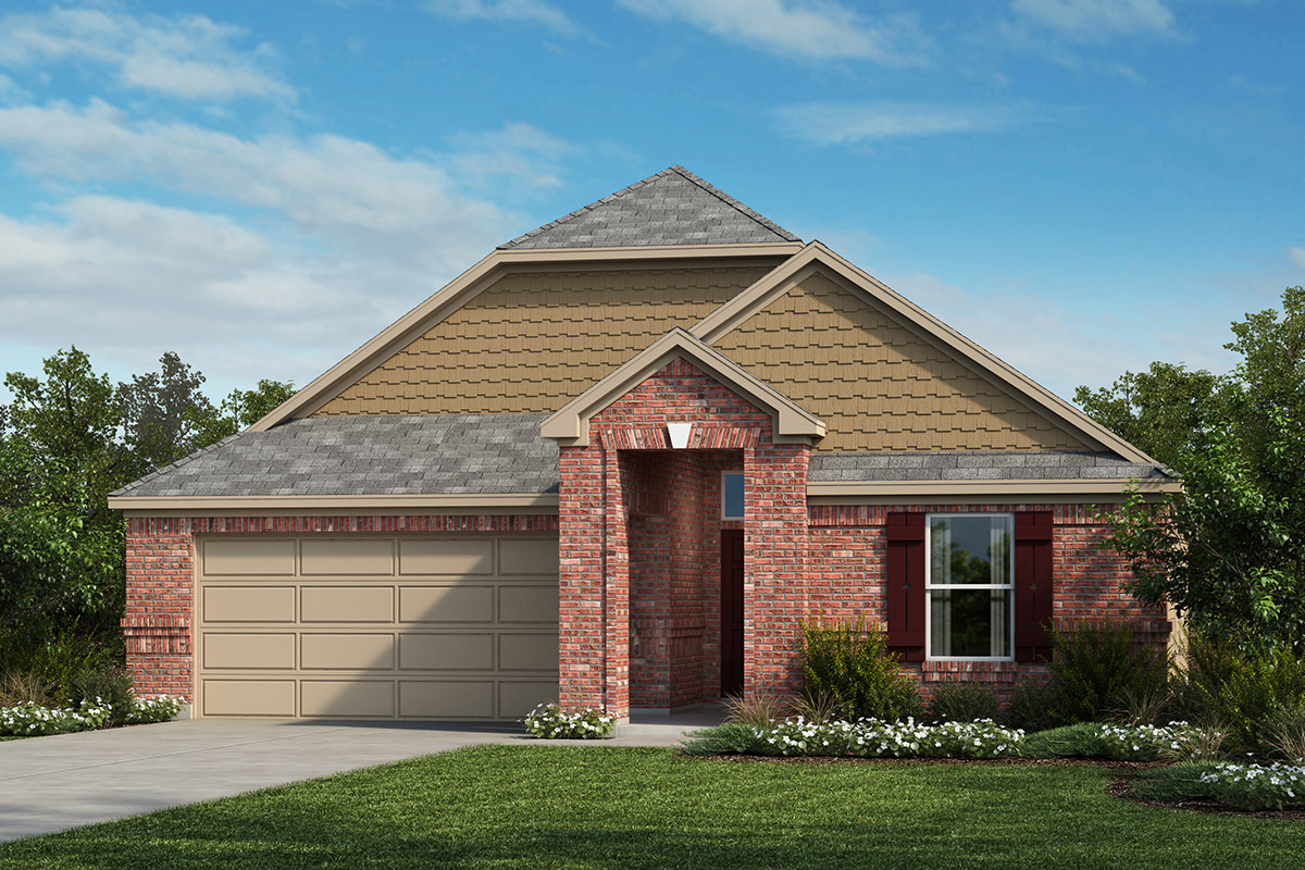 New Homes in La Marque, TX - Elevation F