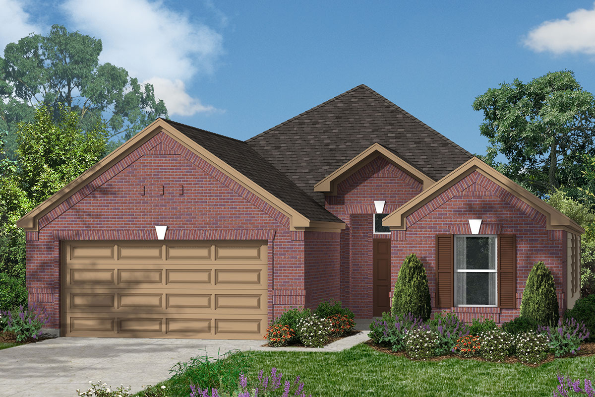 New Homes in Magnolia, TX - Plan 1836