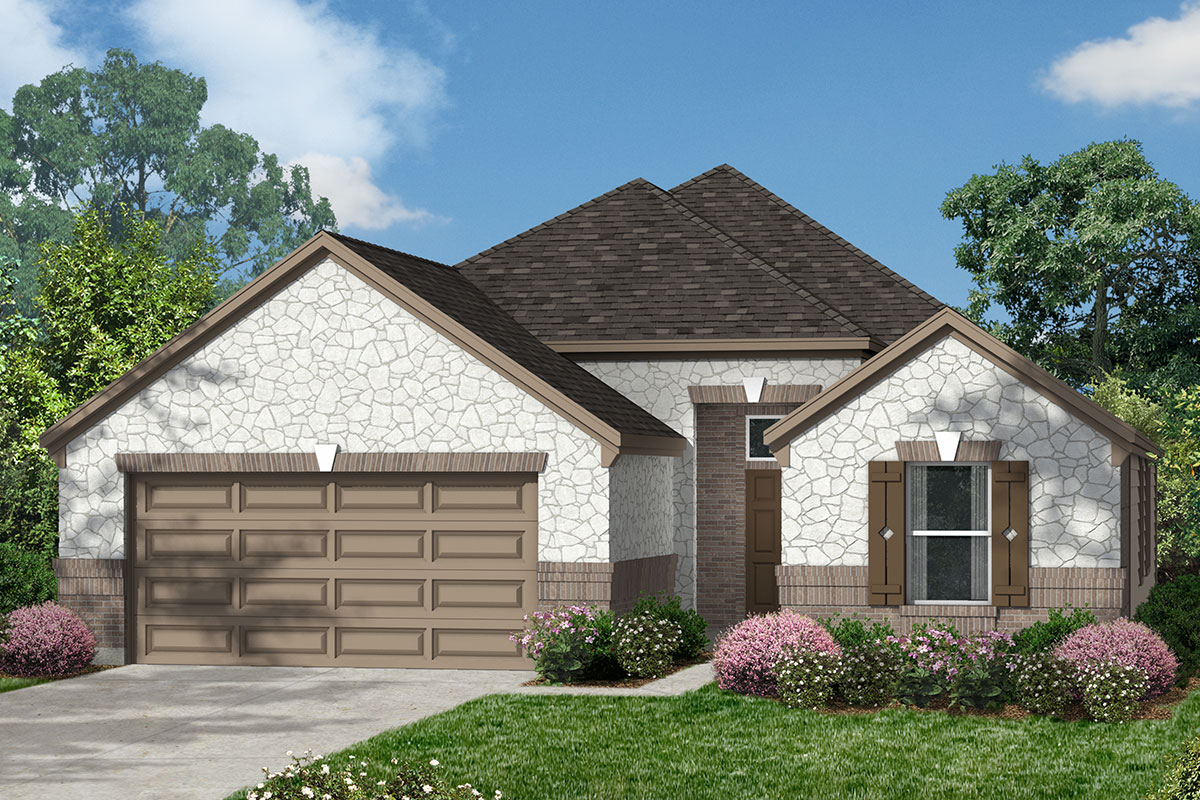 New Homes in La Marque, TX - Elevation L