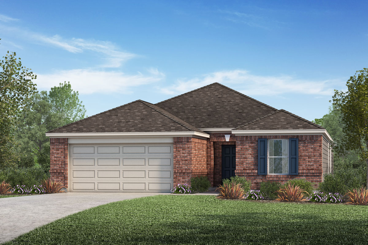 New Homes in La Marque, TX - Sunset Grove Plan 1836-A