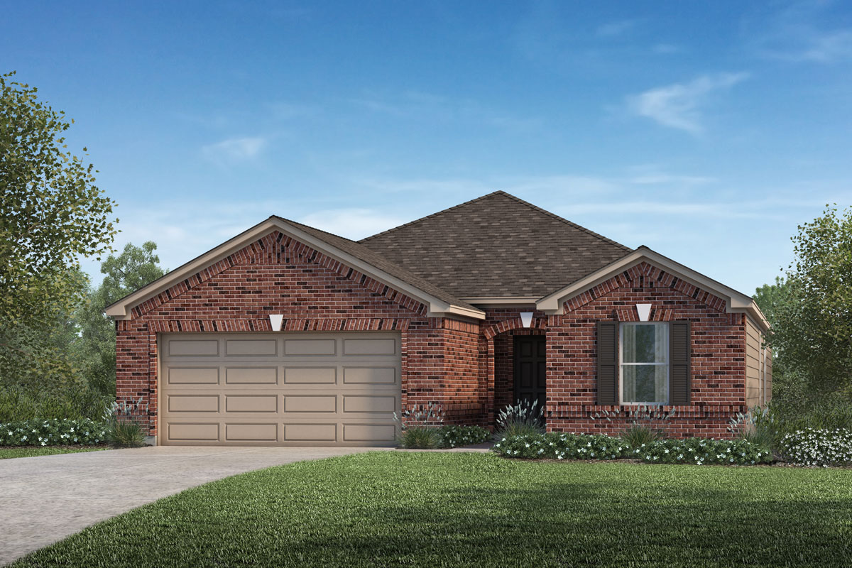 New Homes in Katy, TX - Katy Manor Preserve Plan 1836
