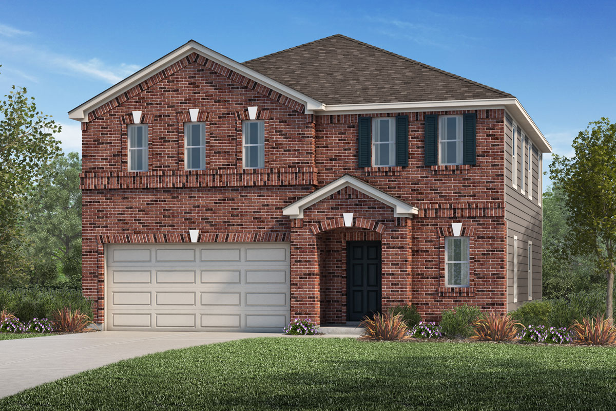 New Homes in La Marque, TX - Sunset Grove Plan 2004-A