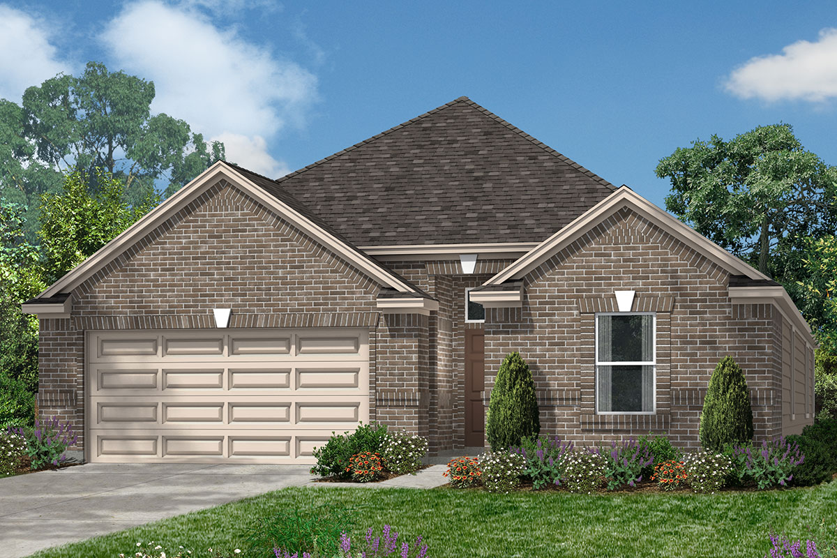 New Homes in Rosenberg, TX - Elevation E