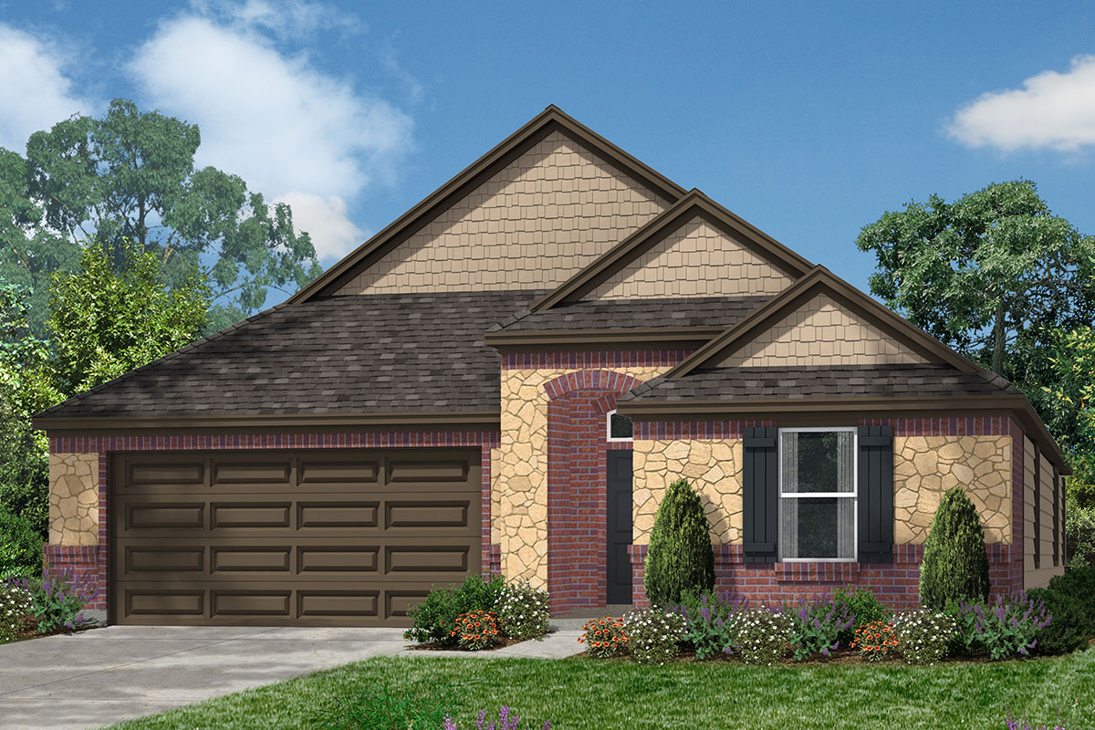 New Homes in Magnolia, TX - Elevation L