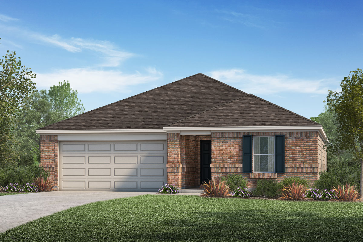 New Homes in Rosenberg, TX - Elevation A
