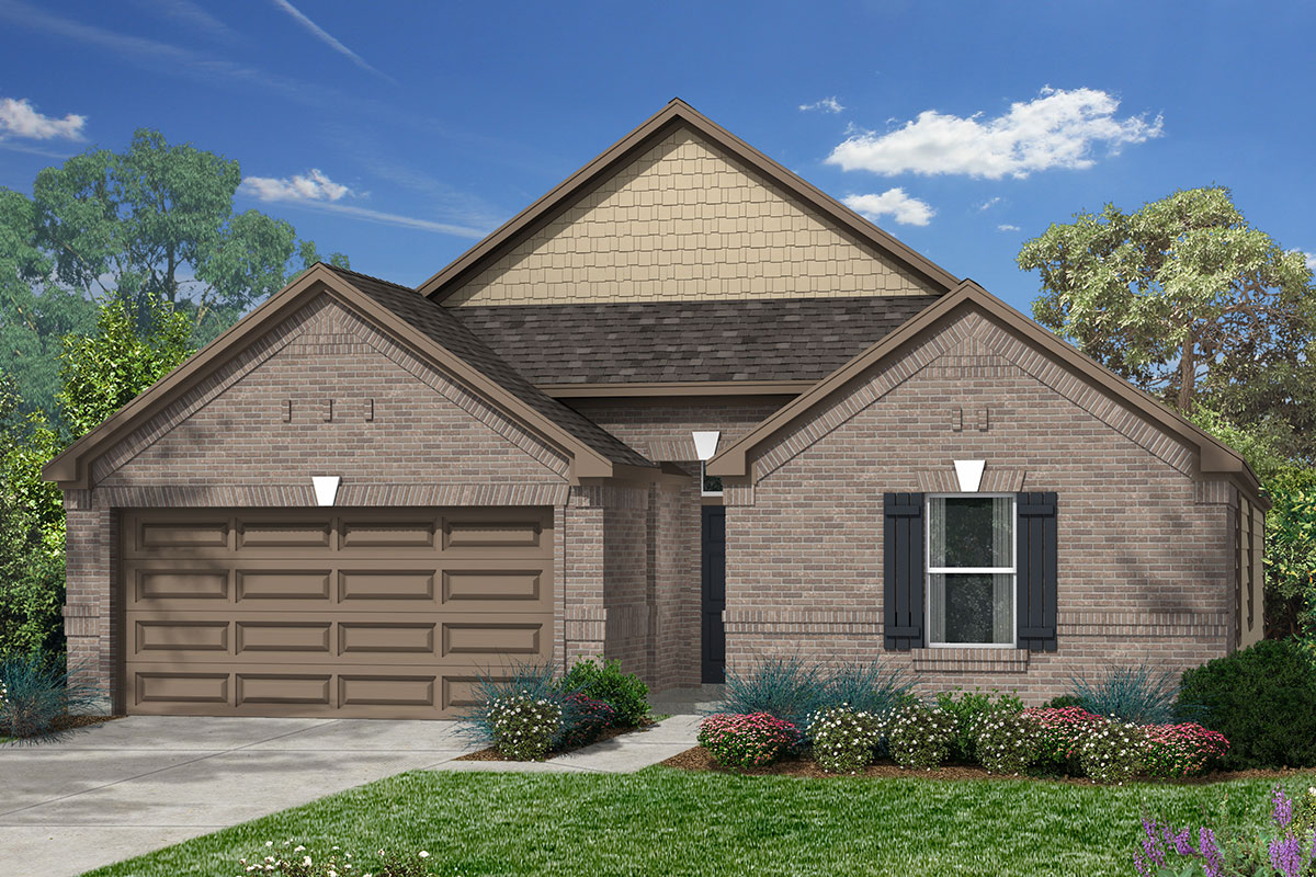 New Homes in Humble, TX - Elevation F