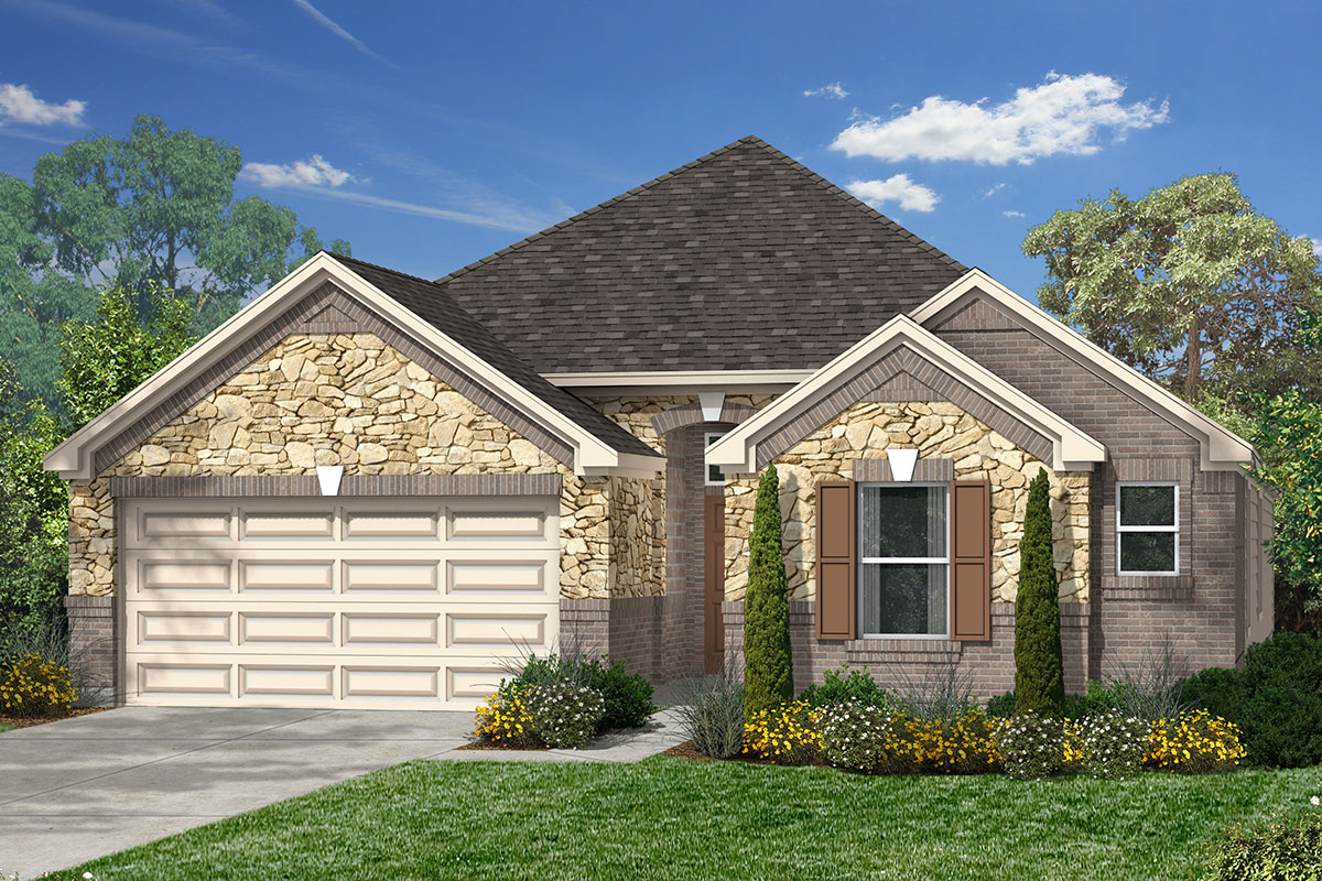 New Homes in Humble, TX - Elevation K