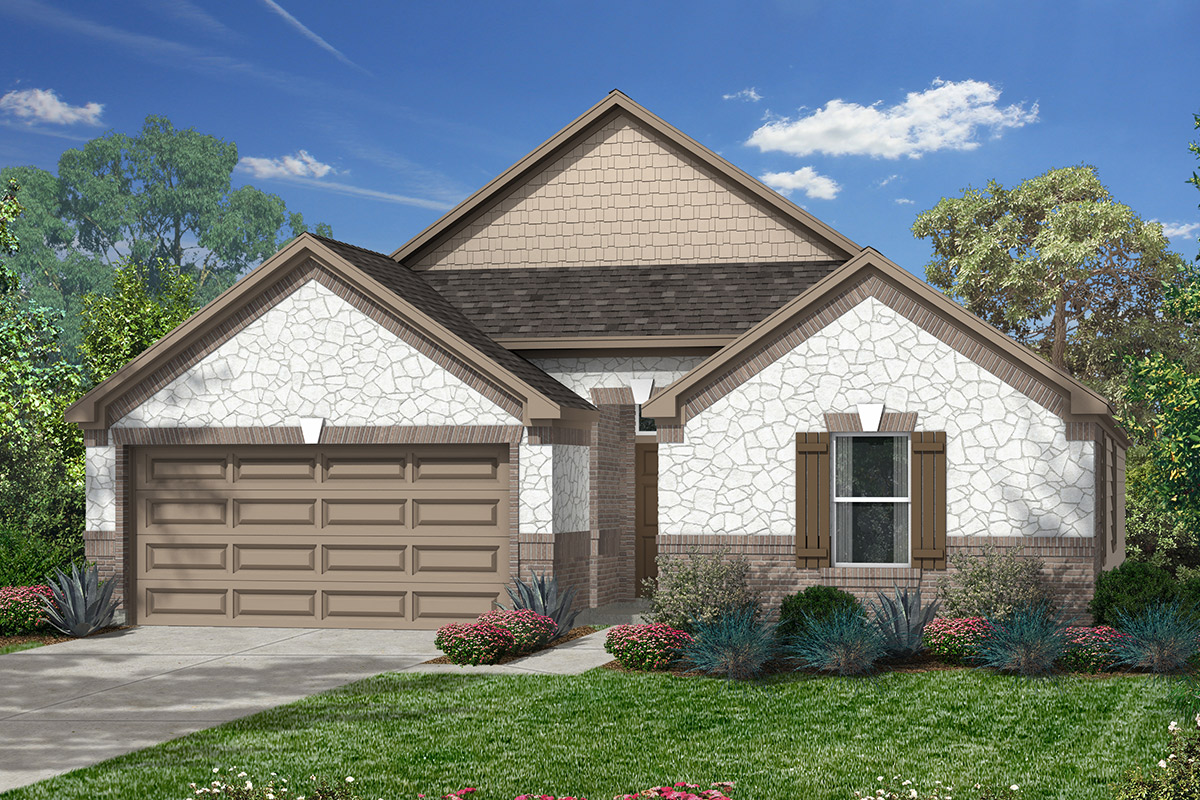New Homes in Humble, TX - Elevation L