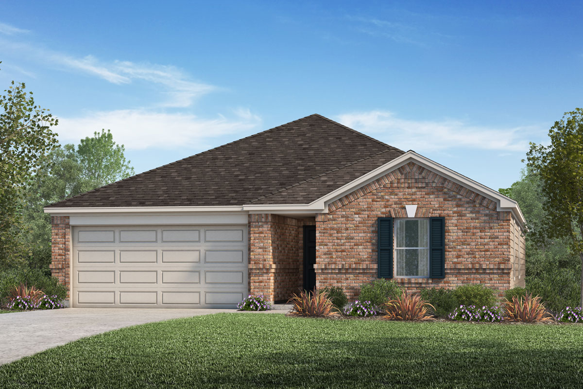 New Homes in La Marque, TX - Elevation A