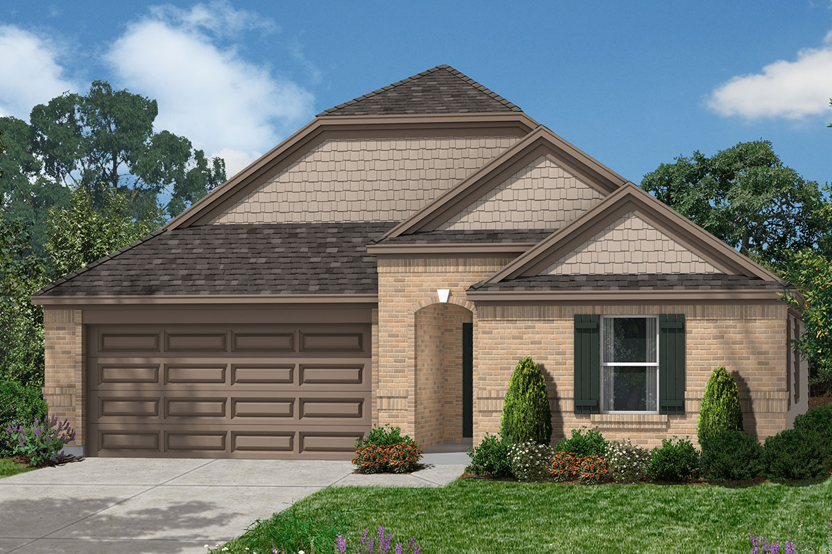 New Homes in Pearland, TX - Elevation E