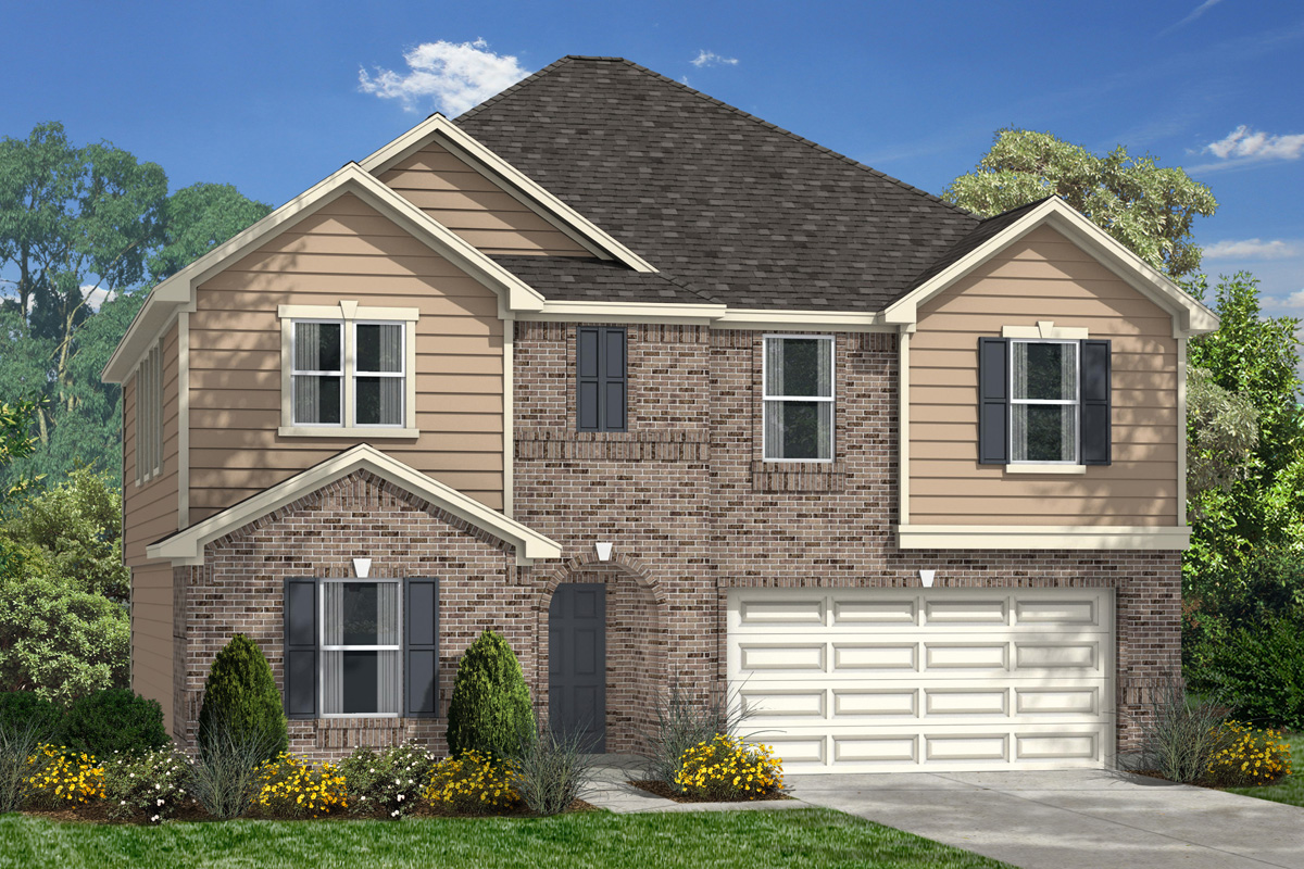 New Homes in La Marque, TX - Elevation D