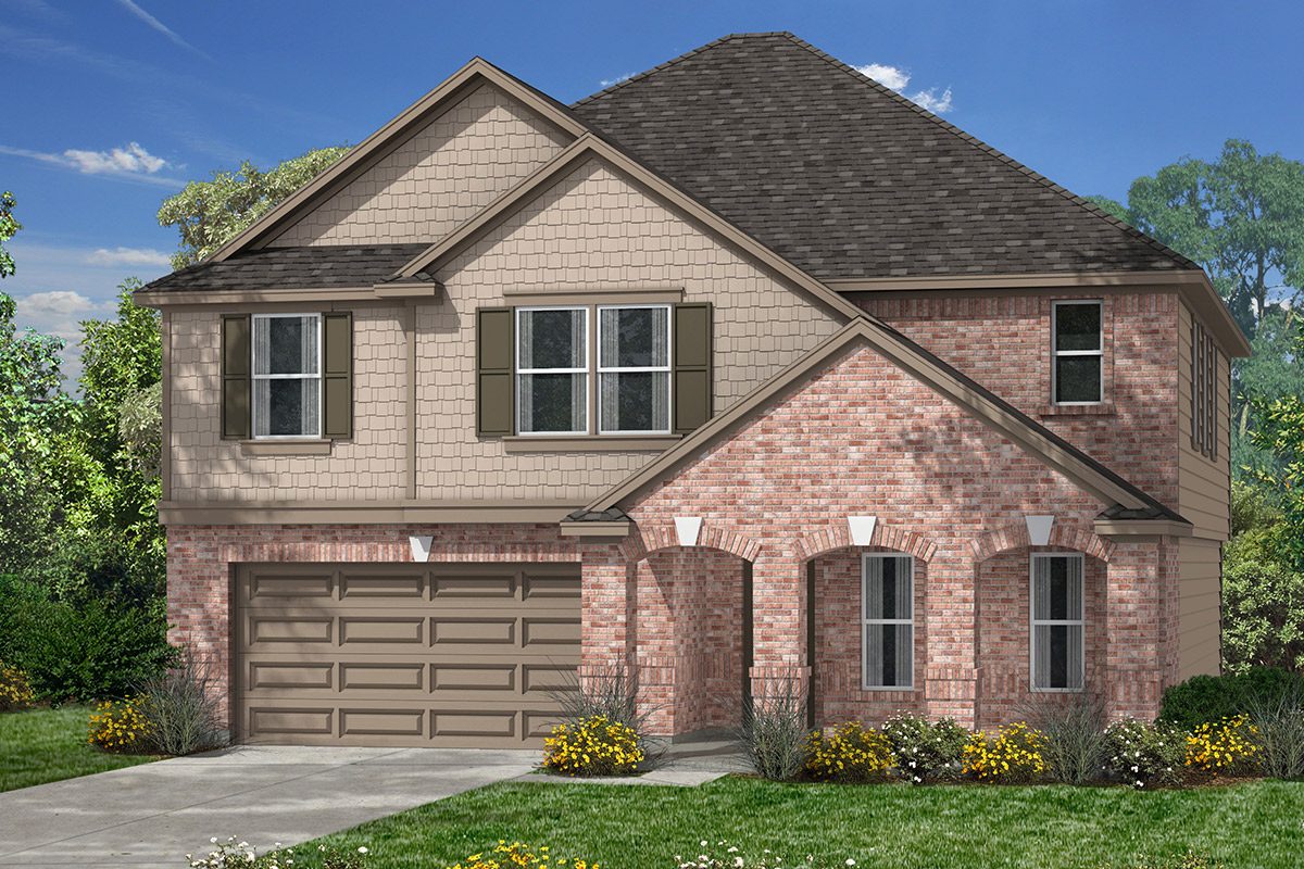New Homes in Magnolia, TX - Elevation F
