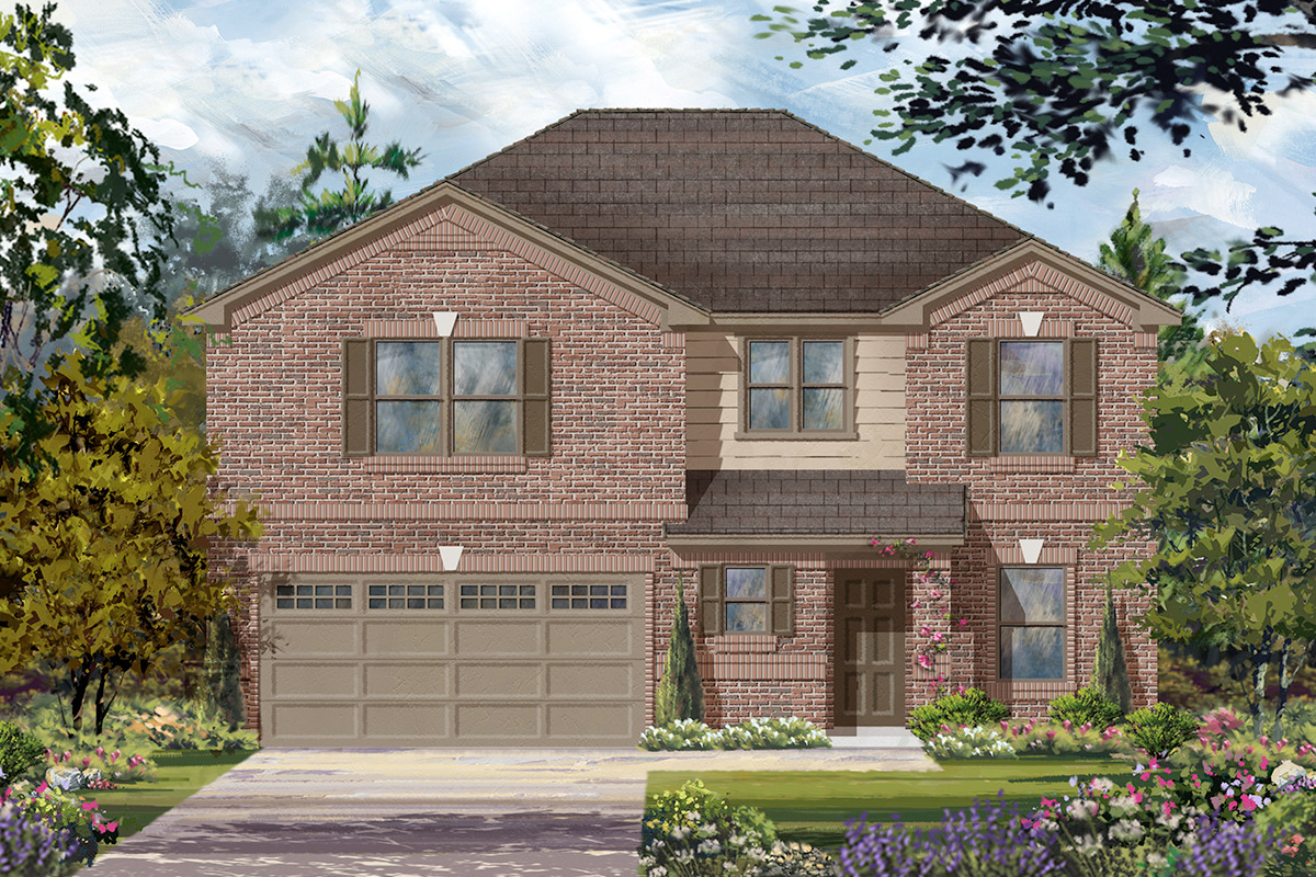 New Homes in Katy, TX - Plan 2590