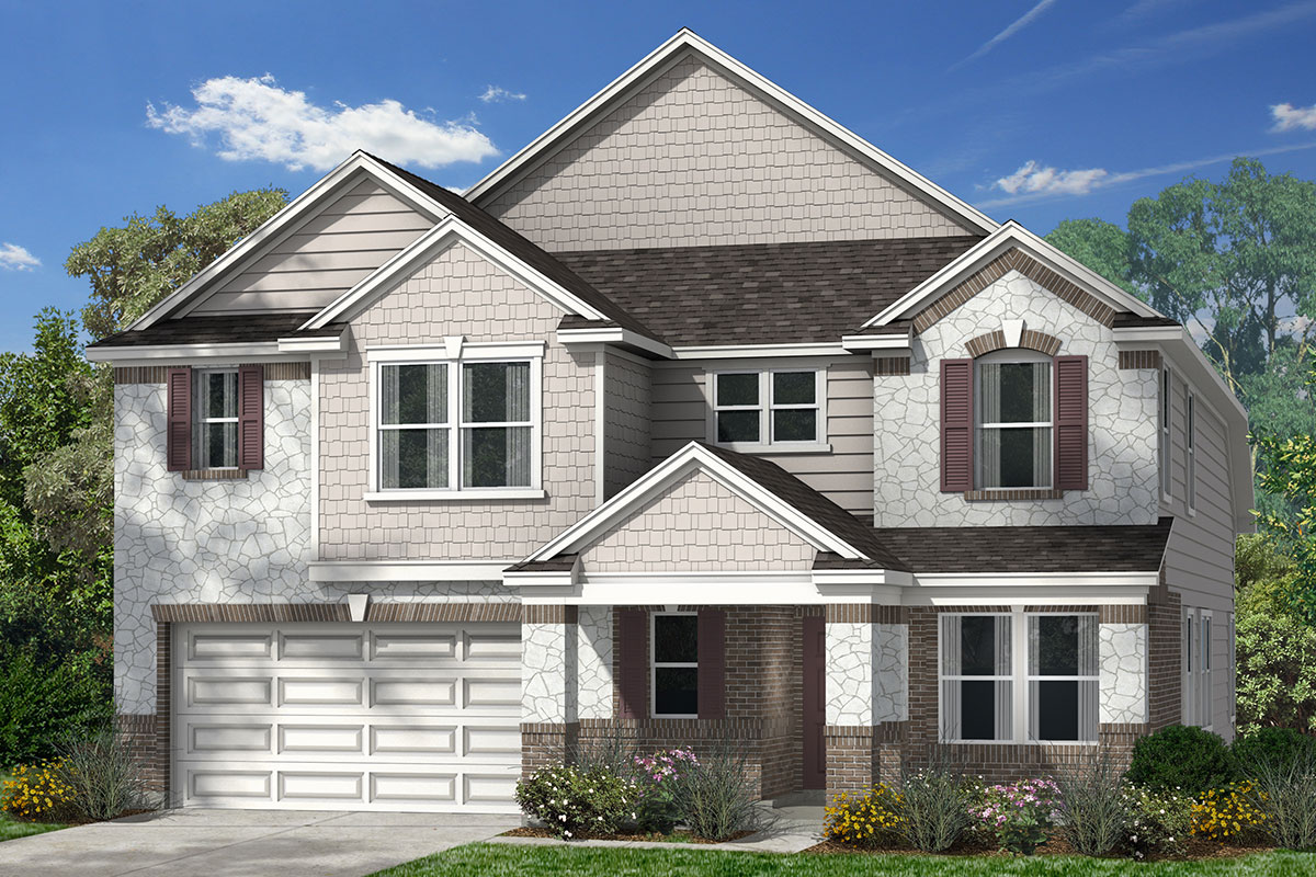 New Homes in Conroe, TX - Elevation K